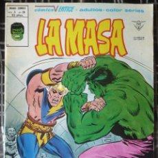 Cómics: LA MASA V.3 - Nº 38. EN EXCELENTE ESTADO. Lote 50421135