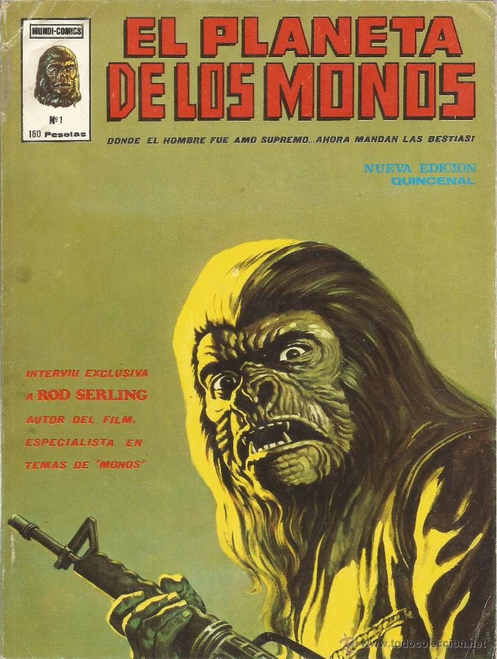 Cómics: El planeta de los monos. 6 números. Donde el hombre fue amo supremo, ahora mandan las bestias - VARI - Foto 2 - 50411368