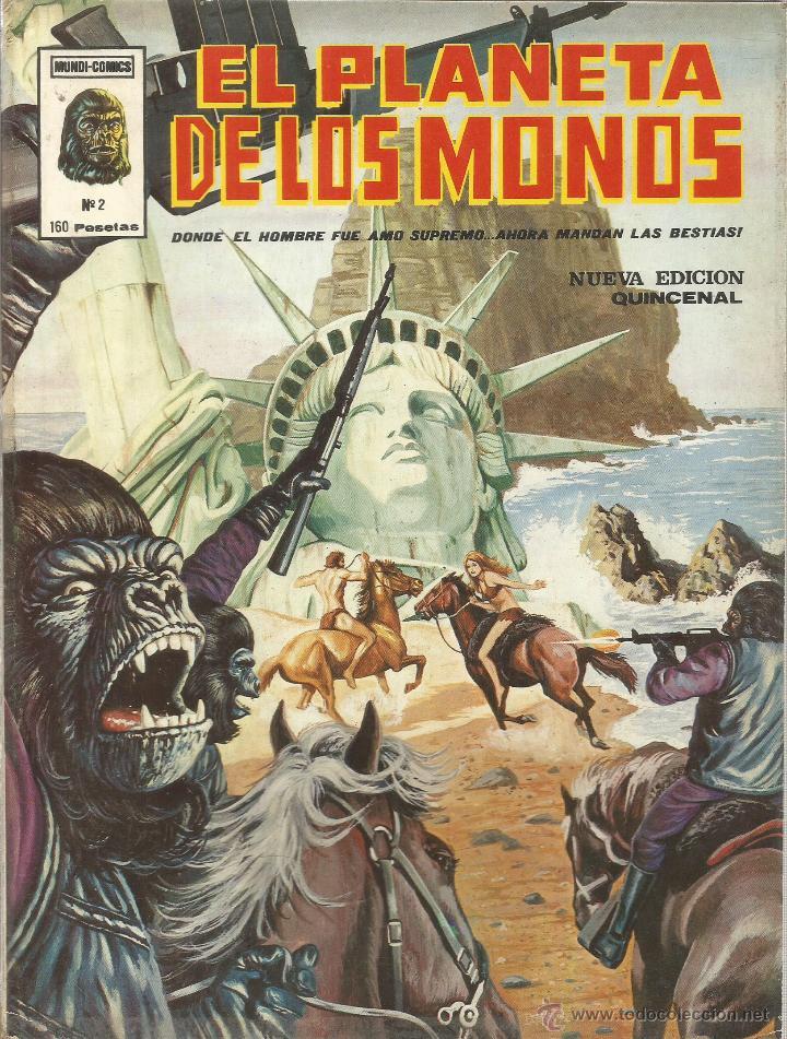 Cómics: El planeta de los monos. 6 números. Donde el hombre fue amo supremo, ahora mandan las bestias - VARI - Foto 3 - 50411368