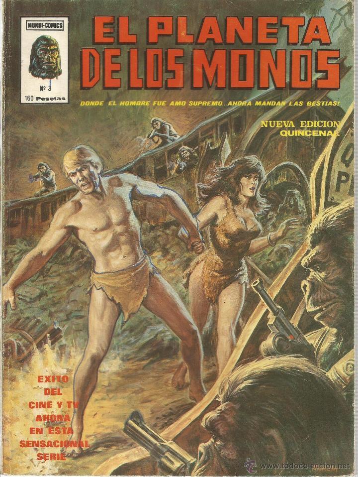 Cómics: El planeta de los monos. 6 números. Donde el hombre fue amo supremo, ahora mandan las bestias - VARI - Foto 4 - 50411368