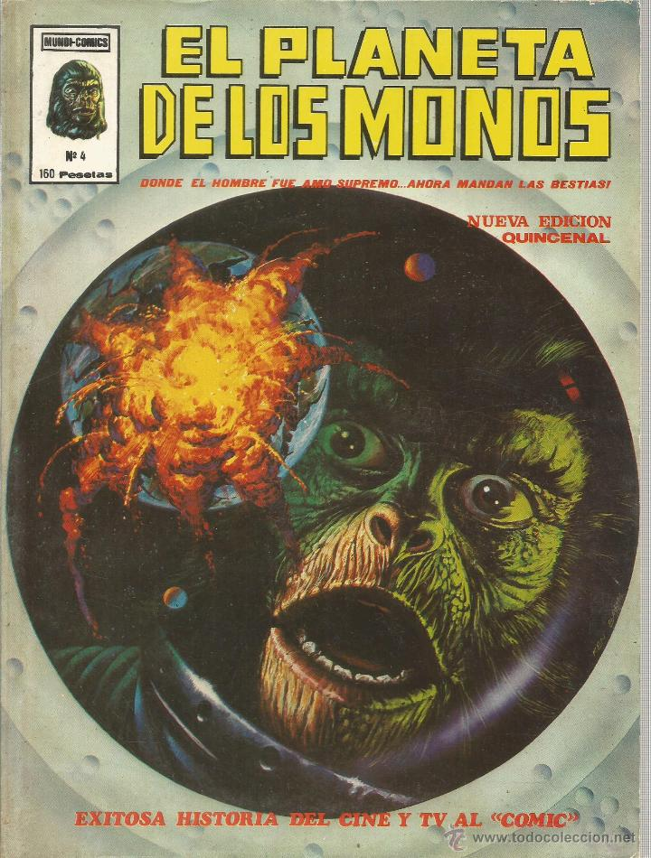 Cómics: El planeta de los monos. 6 números. Donde el hombre fue amo supremo, ahora mandan las bestias - VARI - Foto 5 - 50411368