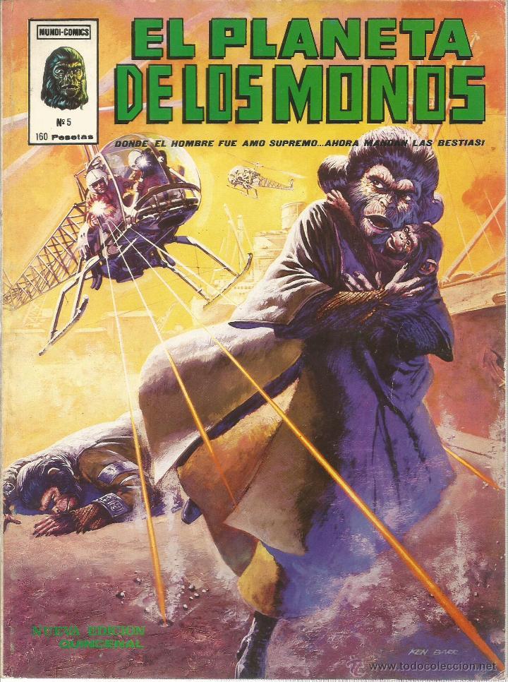 Cómics: El planeta de los monos. 6 números. Donde el hombre fue amo supremo, ahora mandan las bestias - VARI - Foto 6 - 50411368