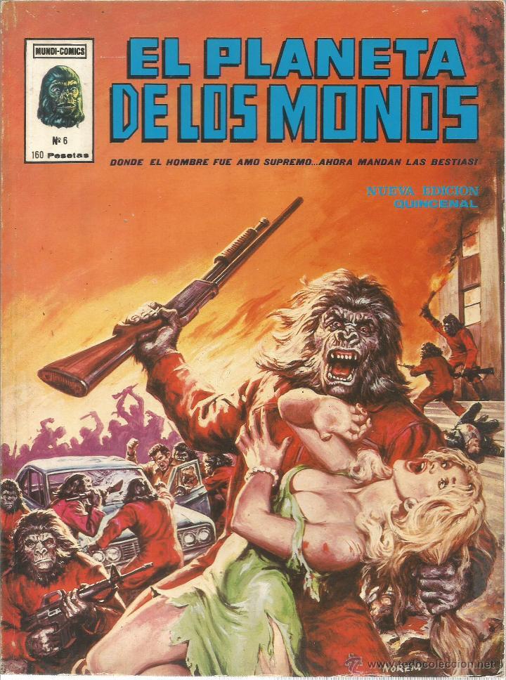 Cómics: El planeta de los monos. 6 números. Donde el hombre fue amo supremo, ahora mandan las bestias - VARI - Foto 7 - 50411368