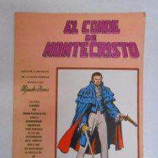 Cómics: VERTICE MUNDI COMICS CLASICOS Nº 1: EL CONDE DE MONTECRISTO. TDKC9. Lote 50421818