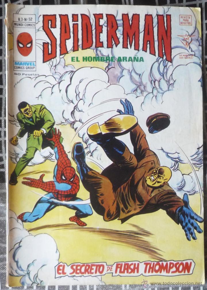 SPIDERMAN V.3 Nº 52 (Tebeos y Comics - Vértice - V.3)