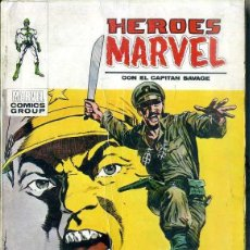 Cómics: HEROES MARVEL CON EL CAPITAN SAVAGE. Lote 50465454