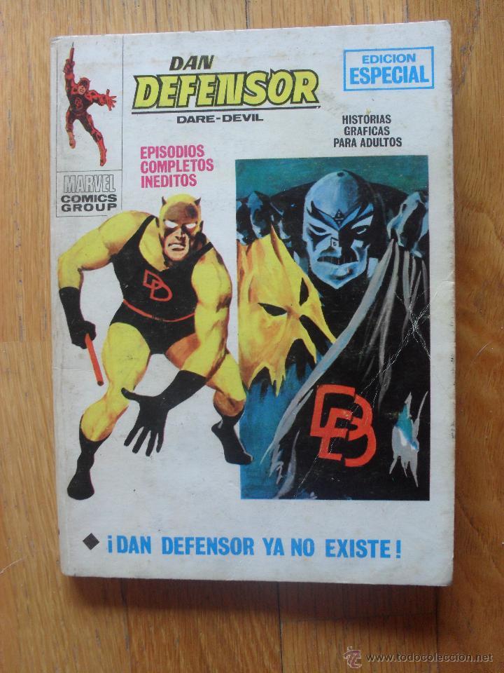 DAN DEFENSOR, TACO VERTICE, VOLUMEN 1, NUMERO 19 (Tebeos y Comics - Vértice - Dan Defensor)