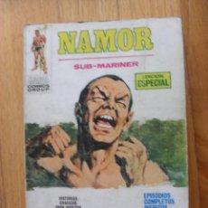 Cómics: NAMOR, SUB-MARINER,, NAMOR CLAMA VENGANZA, NUMERO 11, CONSERVA PAGINA GALERIA FIGURAS MARVEL. Lote 50475689