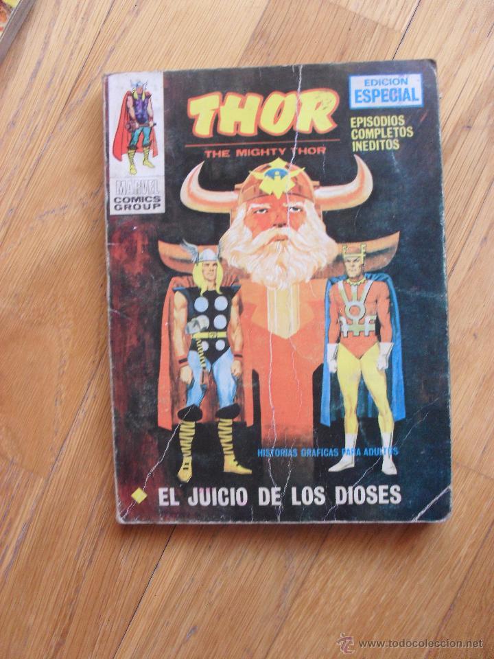 THOR, EL JUICIO DE LOS DIOSES, VOLUMEN 1, TACO NUMERO 16 (Tebeos y Comics - Vértice - Thor)