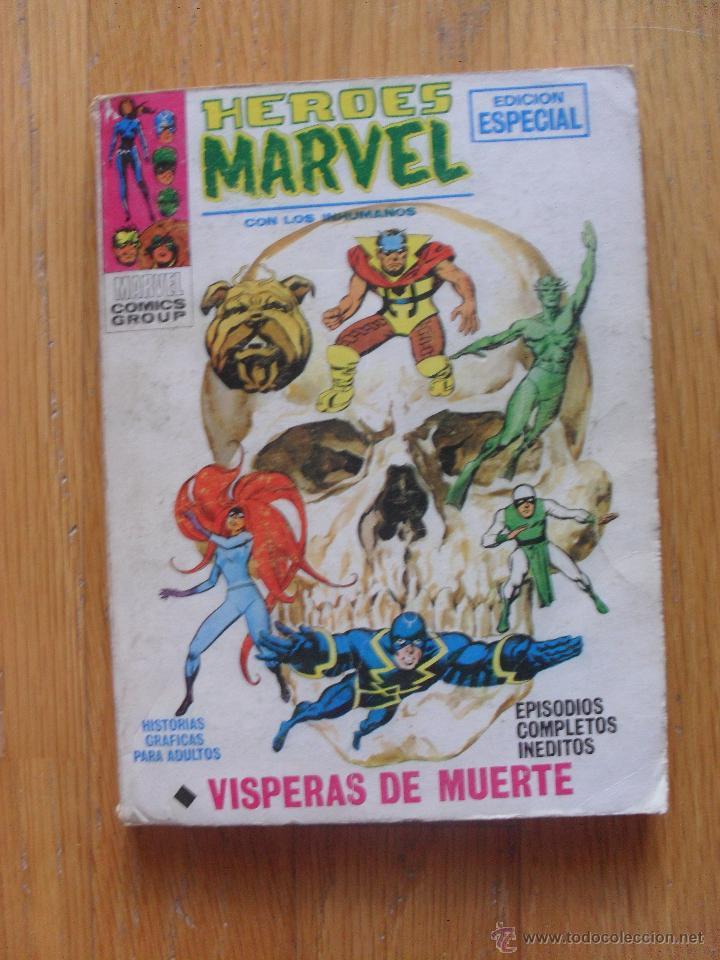 HEROES MARVEL, VISPERAS DE MUERTE, NUMERO 6, EDICION ESPECIAL TACO (Tebeos y Comics - Vértice - Super Héroes)