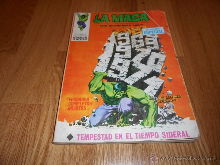 LA MASA N º 16 VERTICE VOL.1 TEMPESTAD EN TIEMPO SIDERAL EL ESTADO DEL COMIC ES BUENO , LEER (Tebeos y Comics - Vértice - La Masa)