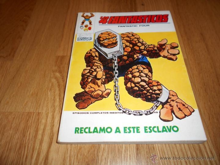 COMIC SUPERHEROES MARVEL VERTICE VOL 1: LOS 4 CUATRO FANTASTICOS 45 RECLAMO A ESTE ESCLAVO JC. (Tebeos y Comics - Vértice - 4 Fantásticos)