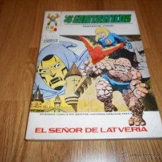 Cómics: LOS 4 FANTASTICOS , Nº 42 , EL SEÑOR DE LATVERIA , TACO ,VERTICE ,ORIGINAL ,V 42. Lote 50488071