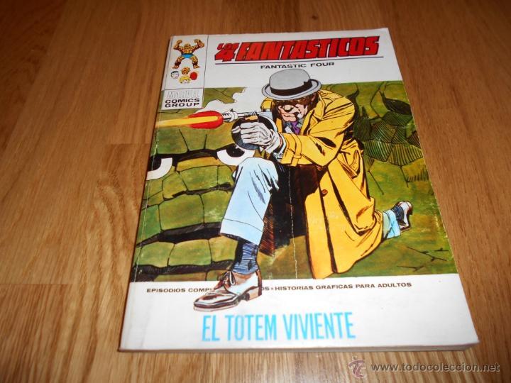 LOS 4 FANTÁSTICOS / VOL. 1 Nº 40: EL TOTEM VIVIENTE / VÉRTICE (Tebeos y Comics - Vértice - 4 Fantásticos)