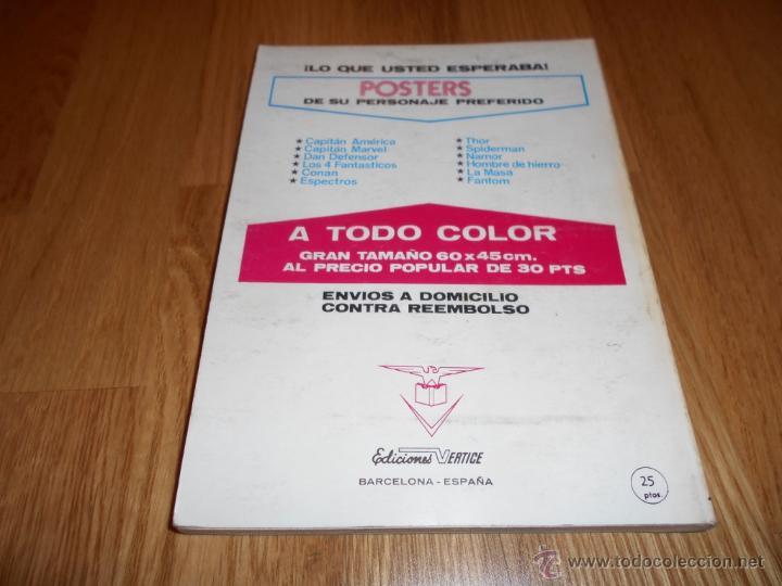 Cómics: LOS 4 FANTÁSTICOS / VOL. 1 Nº 40: EL TOTEM VIVIENTE / VÉRTICE - Foto 5 - 50489524