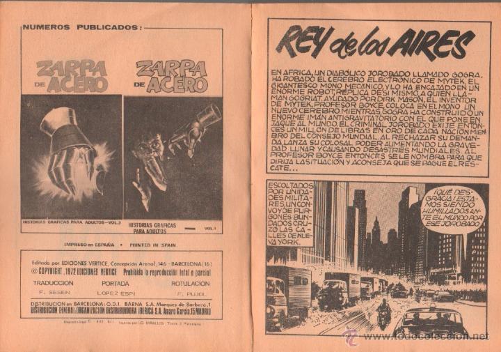 Cómics: MITEK EL PODEROSO Nº 4 EDICION ESPECIAL - COMPLETO CON GALERIA DE FIGURAS MARVEL - Foto 3 - 50503021