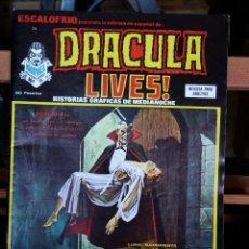Cómics: DRÁCULA LIVES Nº 6 (MUY BUEN ESTADO, VÉRTICE TERROR). Lote 50506679