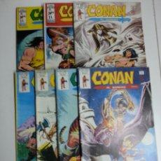 Cómics: CONAN EL BARBARO VOL. 2 LOTE DE 7 Nº 21-22-36-38-39-42-43. Lote 50547119