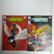 Cómics: SUPER HEROES PRESENTA VOL 2 THE CHAMPIONS LOTE DE 2 Nº 84-85. Lote 50573438