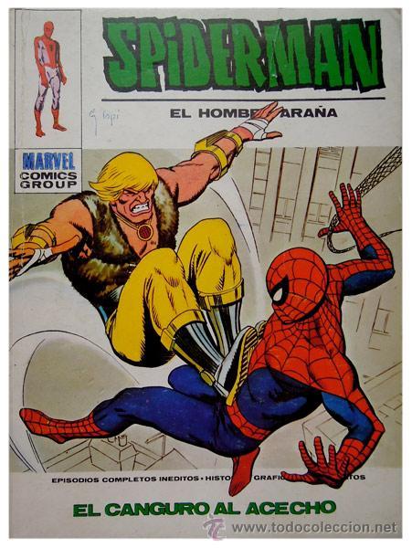 SPIDERMAN #57 – EL CANGURO AL ACECHO – MARVEL / ED. VÉRTICE – SPAIN 1974 (Tebeos y Comics - Vértice - Otros)