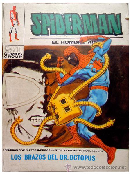 SPIDERMAN #38 – LOS BRAZOS DEL DR. OCTOPUS 1972– MARVEL / ED. VÉRTICE – SPAIN 1972 (Tebeos y Comics - Vértice - Otros)