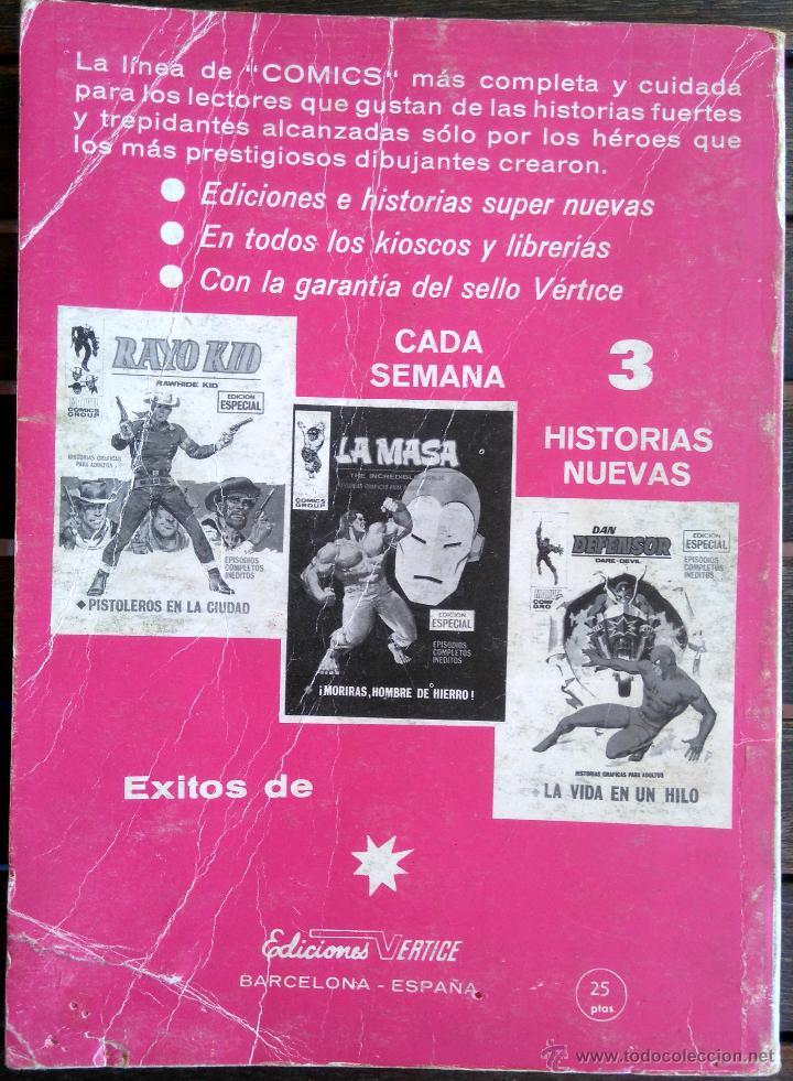 Cómics: VERTICE V. TODOS Nº 1 LOS 4 FANTASTICOS,LOS VENGADORES,ESTELA PLATEADA,CONAN,DAN DEFENSOR,THOR,NAMOR - Foto 9 - 50761159