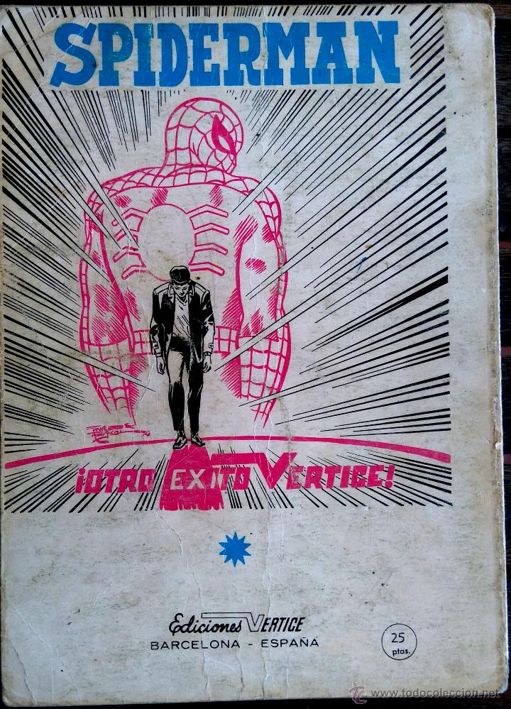 Cómics: VERTICE V. TODOS Nº 1 LOS 4 FANTASTICOS,LOS VENGADORES,ESTELA PLATEADA,CONAN,DAN DEFENSOR,THOR,NAMOR - Foto 15 - 50761159