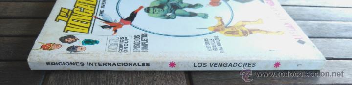 Cómics: VERTICE V. TODOS Nº 1 LOS 4 FANTASTICOS,LOS VENGADORES,ESTELA PLATEADA,CONAN,DAN DEFENSOR,THOR,NAMOR - Foto 20 - 50761159