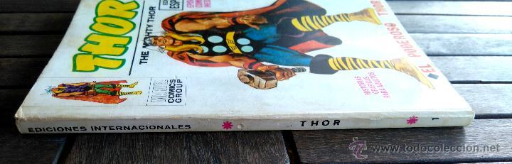 Cómics: VERTICE V. TODOS Nº 1 LOS 4 FANTASTICOS,LOS VENGADORES,ESTELA PLATEADA,CONAN,DAN DEFENSOR,THOR,NAMOR - Foto 22 - 50761159