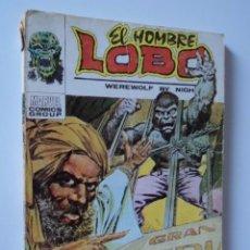 Cómics: COMIC MARVEL COMICS GROUP VERTICE TACO EL HOMBRE LOBO - LA FERIA DEL HORROR - Nº 4 R.100. Lote 50795787