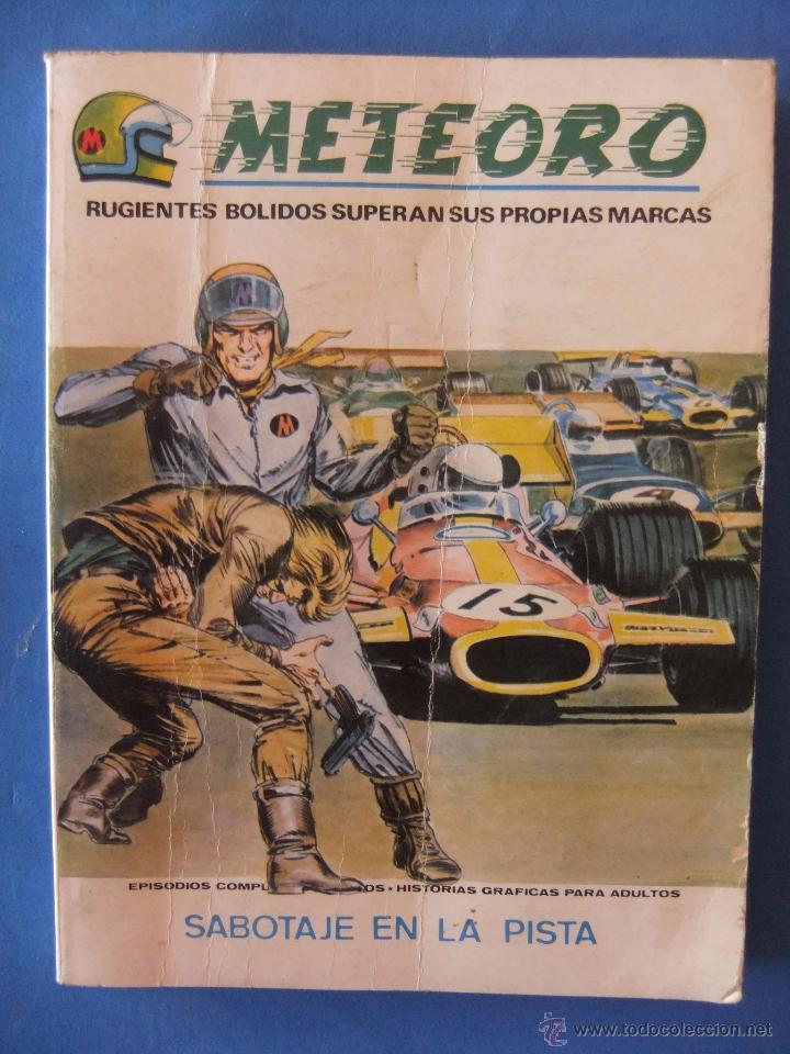 METEORO Nº 6 SABOTAJE EN LA PISTA VERTICE TACO (Tebeos y Comics - Vértice - Otros)
