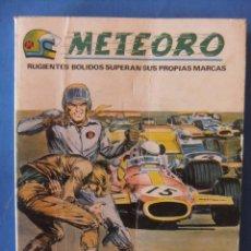 Cómics: METEORO Nº 6 SABOTAJE EN LA PISTA VERTICE TACO. Lote 50871549