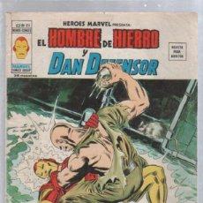Cómics: REVISTA PARA ADULTOS. EL HOMBRE DE HIERRO Y DAN DEFENSOR. V.2 - Nº 25. MUNDI COMICS. Lote 50909131