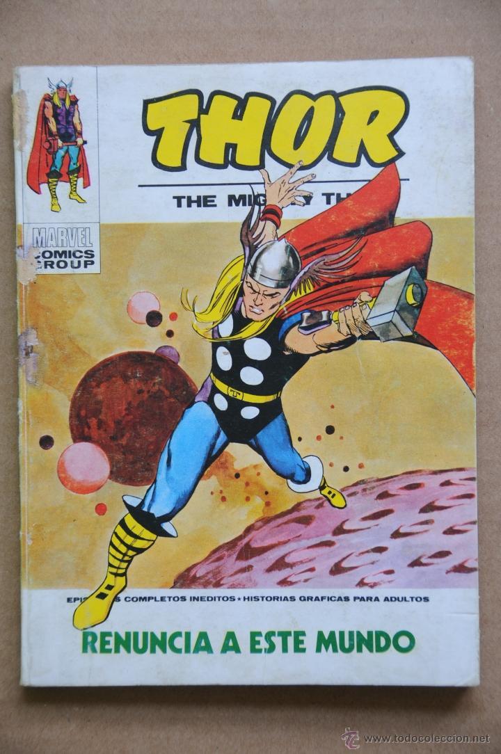 THOR Nº 29. RENUNCIA A ESTE MUNDO. EDICIONES VERITCE V-1. COMPLETO 128 PÁG. (Tebeos y Comics - Vértice - Thor)