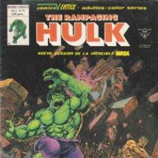 Cómics: COMIC COLECCION THE RAMPLING HULK Nº 13. Lote 51099335