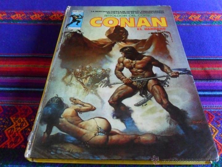 VÉRTICE MUNDI COMICS ANTOLOGÍA COMIC Nº 5 CONAN. 300 PTS. 1977. REGALO EL BUCANERO. (Tebeos y Comics - Vértice - Surco / Mundi-Comic)