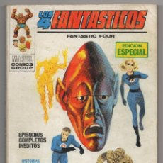 Cómics: 4 FANTASTICOS Nº 6 (VERTICE 1969). Lote 51220599