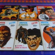 Cómics: VÉRTICE VOL. 1 MYTEK 1 2 5 6 9. REGALO GRAPA 1 2 3 4 5 11 12 16 17 VOL. 1 NºS 5 6 7.. Lote 51222792