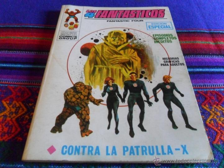 VÉRTICE VOL. 1 LOS 4 FANTÁSTICOS Nº 14. 25 PTS. 1970. CONTRA LA PATRULLA X. MUY BUEN ESTADO!!!!! (Tebeos y Comics - Vértice - 4 Fantásticos)