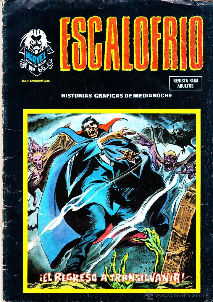 ESCALOFRIO 66. VERTICE. AÑO 1979 (Tebeos y Comics - Vértice - Terror)