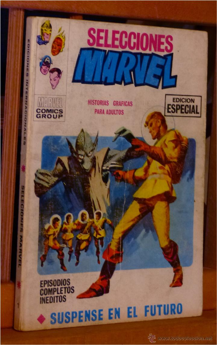 SELECCIONES MARVEL Nº 1 (VERTICE TACO) BUEN ESTADO, DIFÍCIL (Tebeos y Comics - Vértice - V.1)