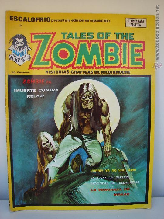 VERTICE. ESCALOFRIO. TALES OF THE ZOMBIE. NUMERO 25. 1974 (Tebeos y Comics - Vértice - Terror)