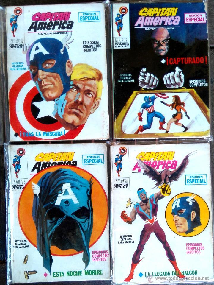 Cómics: VERTICE 1,LOTE 48 COMICS,BUEN ESTADO,CAPITAN AMERICA,MARVEL,SPIDERMAN,THOR,NAMOR,MASA,PATRULLA X ETC - Foto 7 - 51444630
