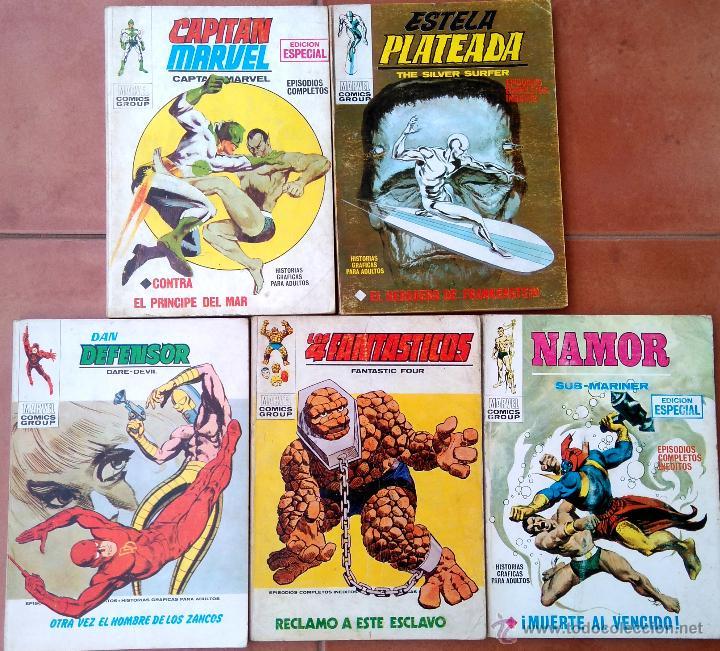 Cómics: VERTICE 1,LOTE 48 COMICS,BUEN ESTADO,CAPITAN AMERICA,MARVEL,SPIDERMAN,THOR,NAMOR,MASA,PATRULLA X ETC - Foto 13 - 51444630