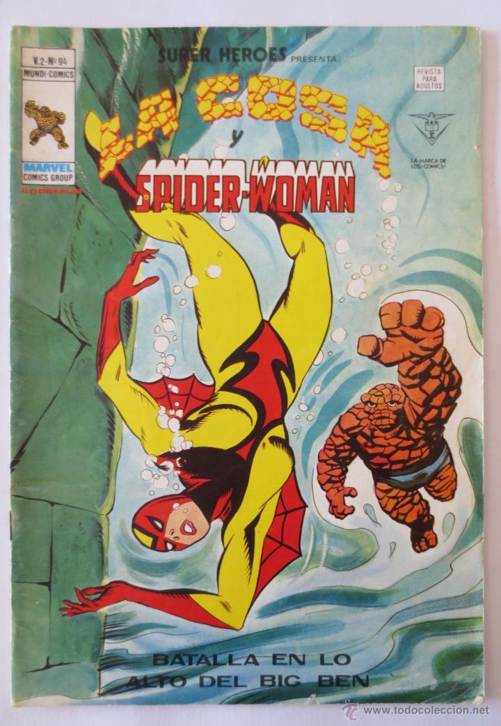 LA COSA Y SPIDER WOMAN VOL 2 Nº 94 VERTICE (Tebeos y Comics - Vértice - Super Héroes)