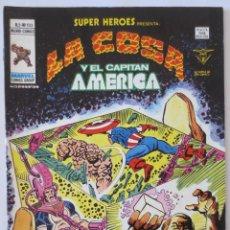 Cómics: LA COSA Y EL CAPITAN AMERICA VOL 2 Nº 103 VERTICE. Lote 51462647
