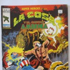 Cómics: LA COSA Y EL CAPITAN AMERICA VOL 2 Nº 104 VERTICE. Lote 51462726