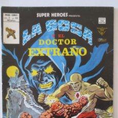 Cómics: LA COSA Y EL DOCTOR EXTRAÑO VERTICE. Lote 51463052