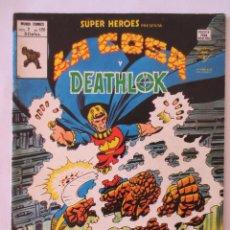 Cómics: LA COSA Y DEATHLOK VERTICE. Lote 51464335