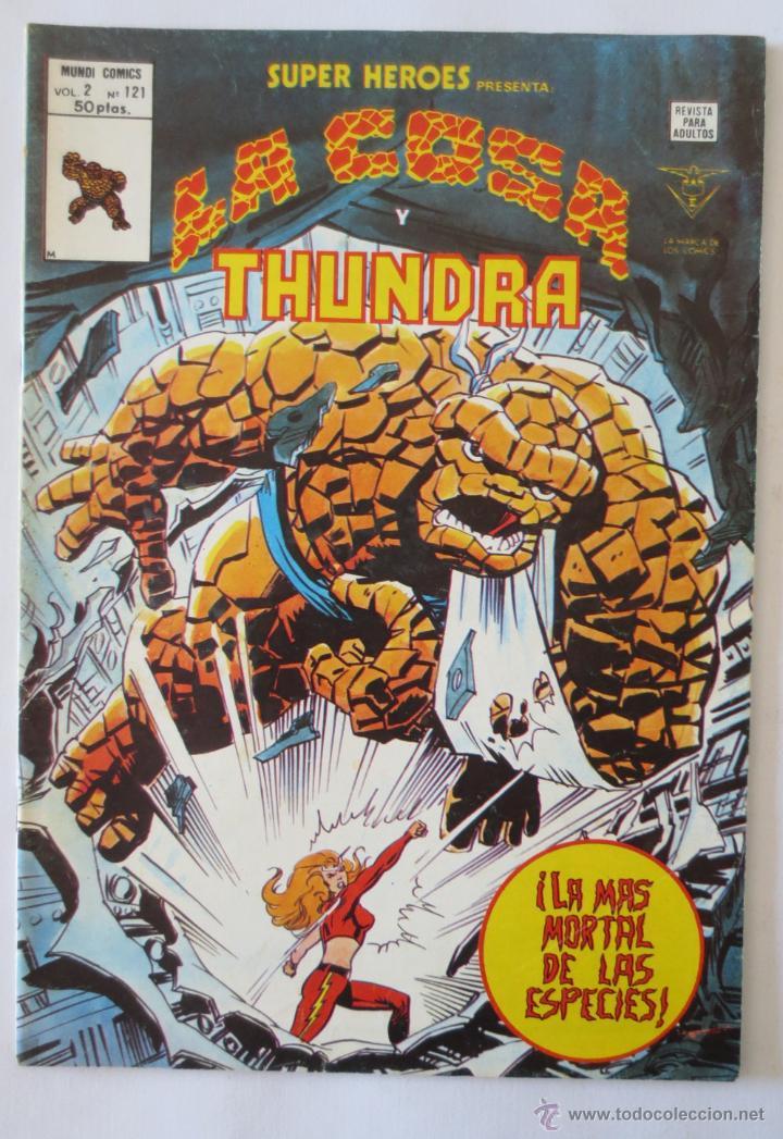 LA COSA Y THUNDRA VERTICE (Tebeos y Comics - Vértice - Super Héroes)
